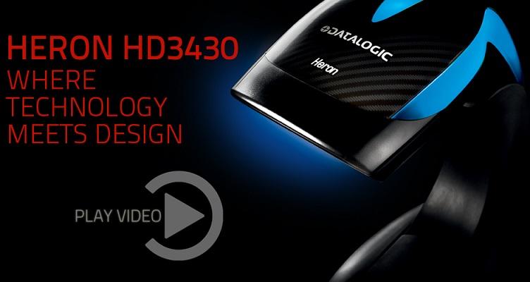 <b>DATALOGIC HERON 3430 </b><br /> 1D + 2D SCANNER