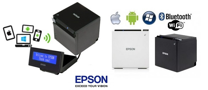 <b>EPSON TM-M30 BT, WLAN </b><br /> iOS, Android, Windows