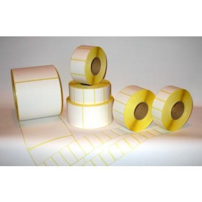 thermo-Papier Selbstklebe-Etiketten perforiert