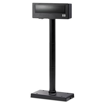 HP CUSTOMER POLE DISPLAY FREESTANDING USB BLACK