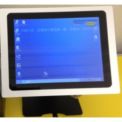 SMART POS MONITOR LED DVI + VGA BLACK inkl. Fuss