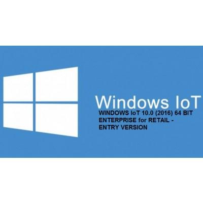 MICROSOFT WINDOWS IoT 10.0 (2016) - 64 BIT