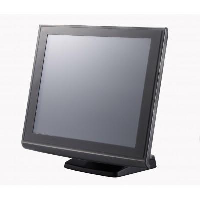 NOVOPOS RICH MONITOR 1015 VGA/SER BLACK - en liquidation!