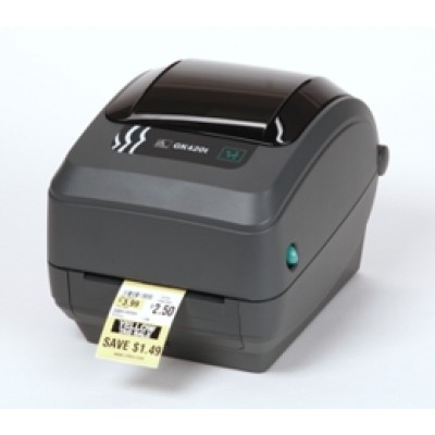 ZEBRA GX-420-D THERMO-DIREKT 200 DPI LABEL PRINTER