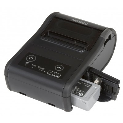 EPSON TM-P 60 II MOB BT / iOS 200 DPI noir avec peeler