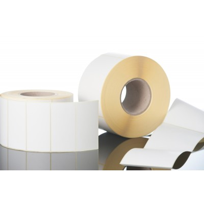 Etiquettes papier normal auto-adhésives