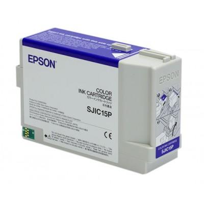 EPSON ORIGINAL INK-CARTRIDGE SJIC15 (P)