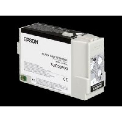 EPSON ORIGINAL INK-CARTRIDGE SJIC20 (K)