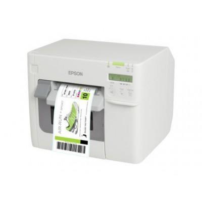 EPSON TM-C 3500 USB/Eth NICE LABEL blanc